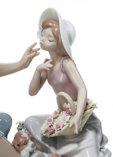 As Pretty As A Flower Mother Figurine