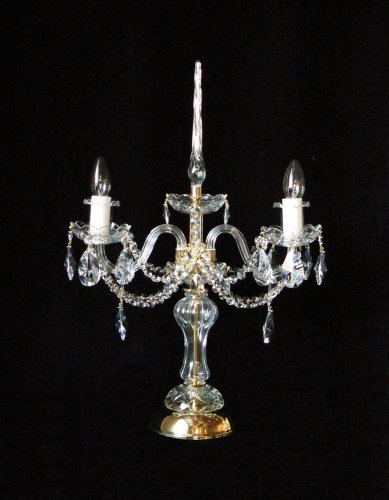 Crystal table lamp SE1740/2/S