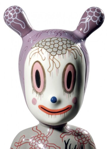 The Guest by Gary Baseman Figurine. Large Model. Limited Edition