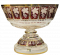 Paneled footed bowl - Height 26cm