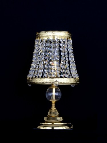 Crystal table lamp SE-7470-1-S